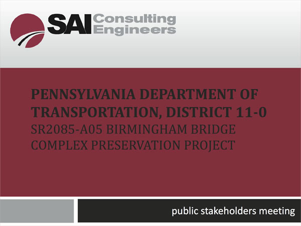 Public Stakeholder's Meeting - July 26, 2014